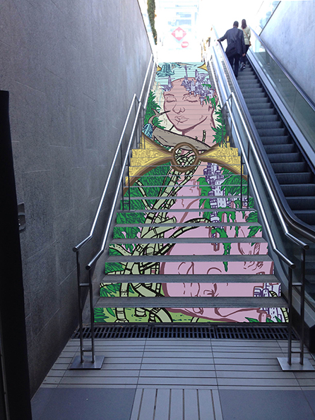 Escales-Muntatge